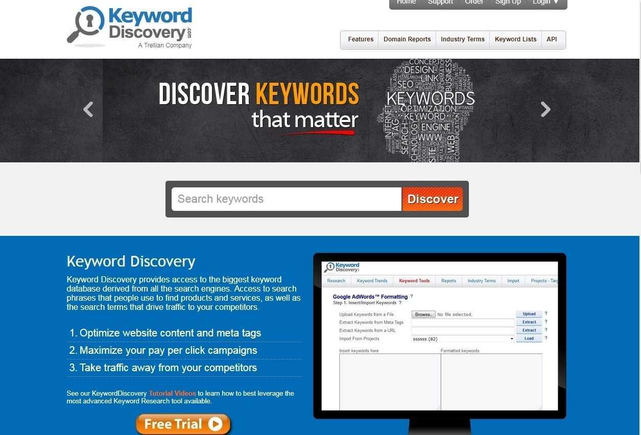 keyword discover