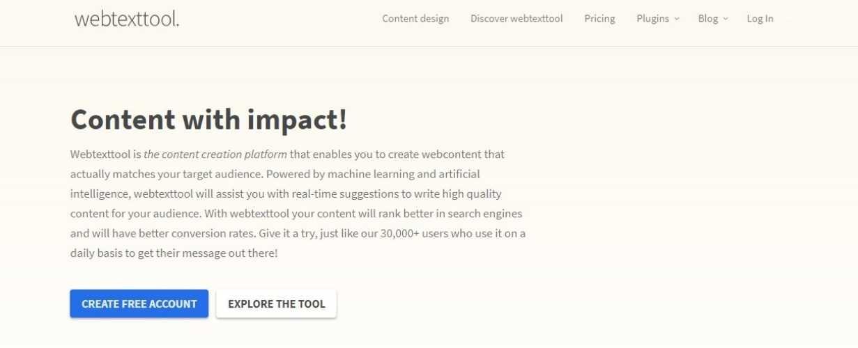 webtext seo tool